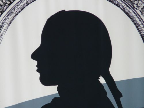 silhouette schiller person