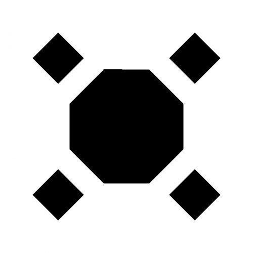 Silhouette Hexagonal Polly