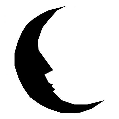 Silhouette Moon