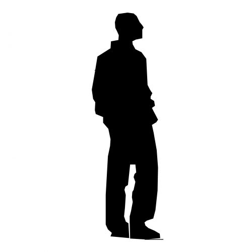Silhouette Young Man