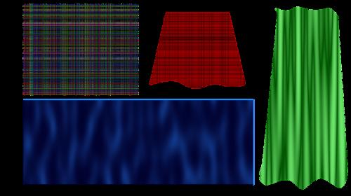 silk curtain textile
