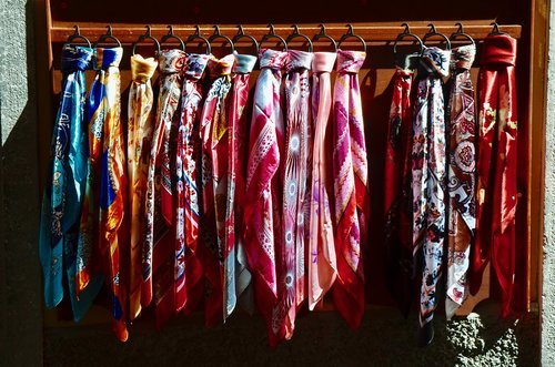 silk  scarf  silk scarf
