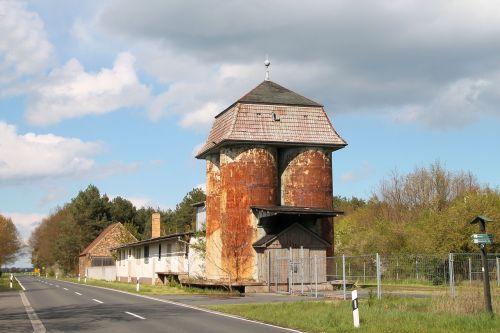 silo memory grain silo