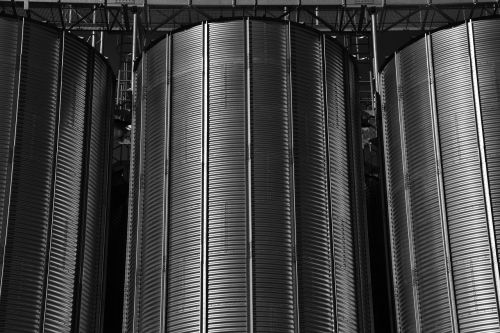 silo agriculture stock