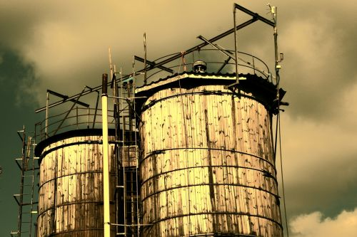 silo agriculture wood