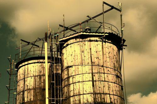 silosas,Žemdirbystė,mediena,senas,senas silosas,dangus,nuotaika,pasibaigė,kraštovaizdis,bavarija,atsargos,laikyti,medienos silosas