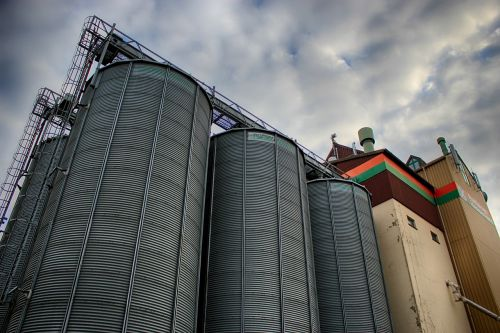 silo cereals sky