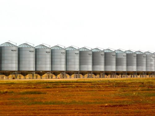 silo wheat storage wheat