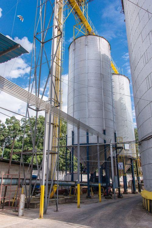 storage silos storage flour grain storage