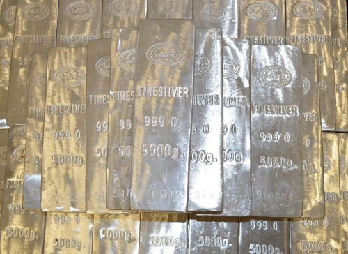 silver bars 5000 grams