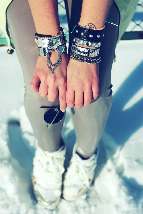 silver bracelet bracelets