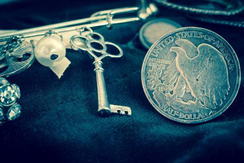 silver coin silver dollar usa