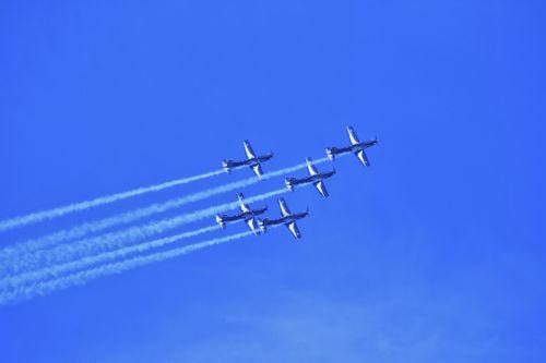 Silver Falcon Team In The Sky