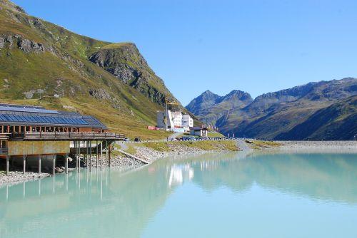 silvretta reservoir austria