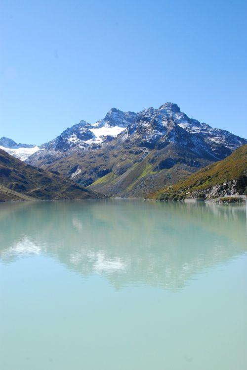 silvretta,rezervuaras,austria,montafon,kalnai,vorarlbergas,Alpių,sniegas,silvretta stausee,aukštas Alpių kelias,svajonių diena