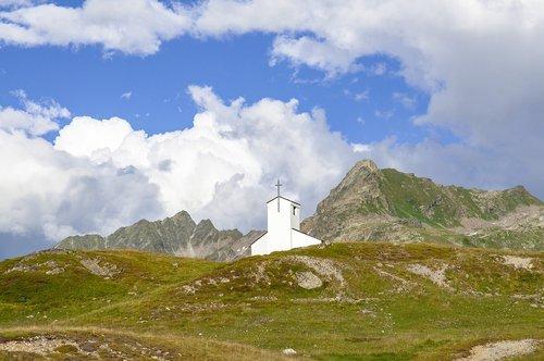 silvretta  bielerhöhe  barbara chapel