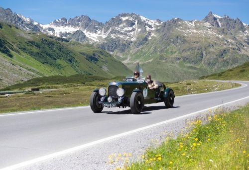 silvretta classic rally silvretta high road pass round trip