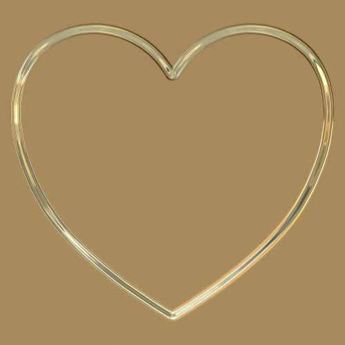 paprastas, širdis, metalinis, kontūrai, blizgantis, blizgus, kontūras, paprastas širdies metalinis kontūras