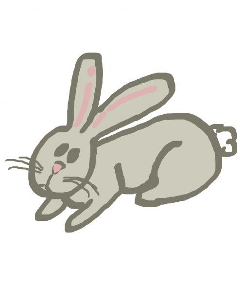 Simple Rabbit Doodle 2