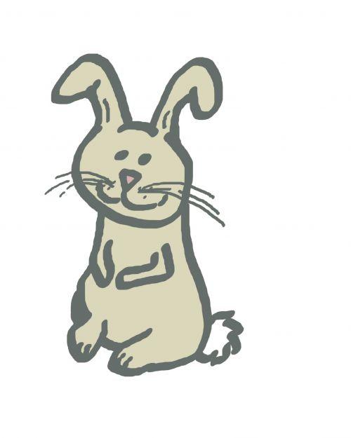Simple Rabbit Doodle