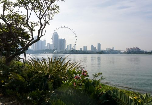 singapore flyer garden