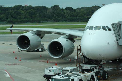 singapore airport aircraft