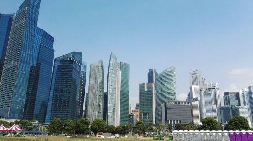 singapore tall buildings modern