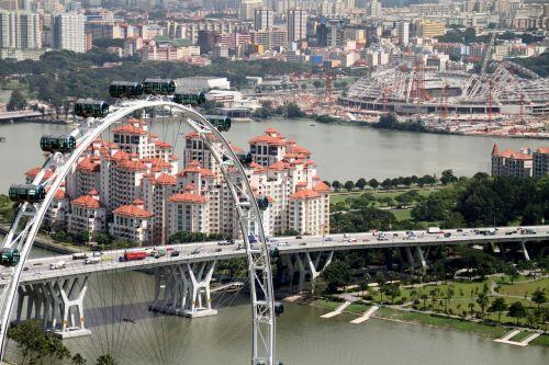 singapore flyer architecture
