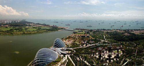 singapore marina bay modern