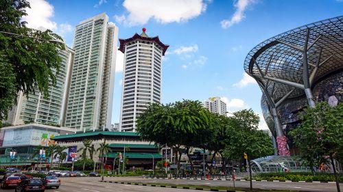 singapore orchard road tourist spot