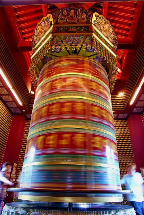 singapore budha tooth relic temple wheel of fortune