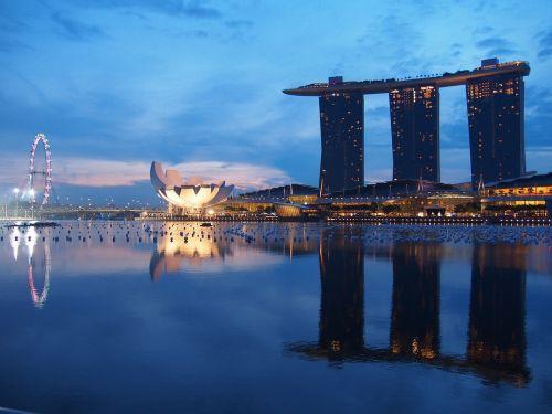 singapore marina singapore flyer