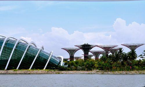 singapore gardens bay sky