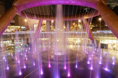 singapore suntec city fountain