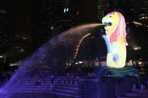 singapore merlion merlion park