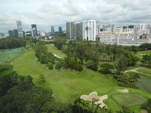 Singapūras,Singapūro golfo aikštynas,golfas,golfo laukas,farvaterius,žalias
