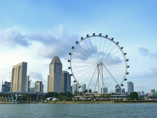 singapore ferris wheel big wheel