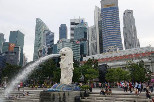 singapore merlion city