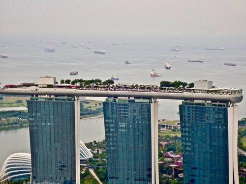 singapore  marina bay suns  sight seeing