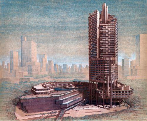 singapore skyscraper building