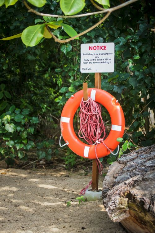 singapore coney island green sign