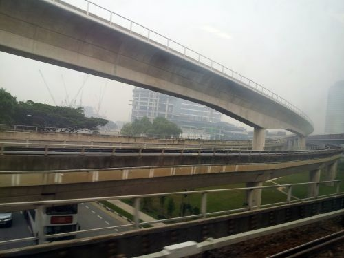 Singapore Jurong East MRT Bridges