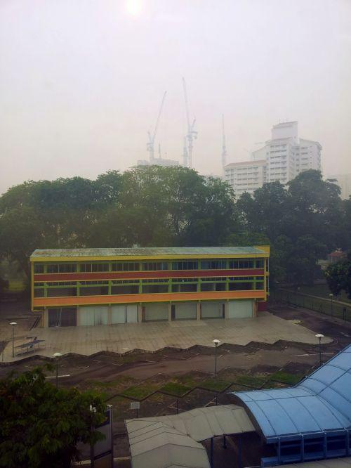 Singapore Queenstown In Haze