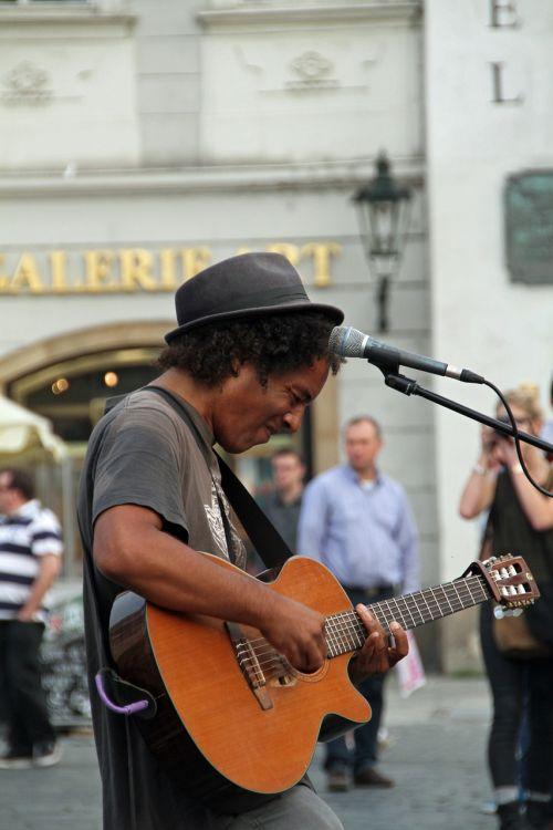 singer guitar musician
