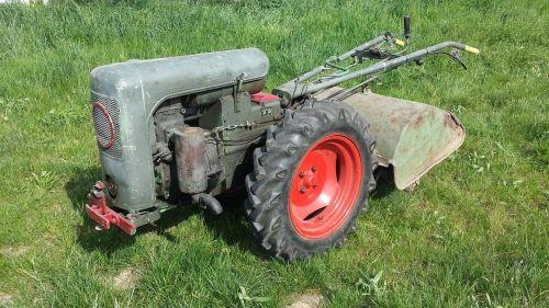 single axle tractor oldtimer
