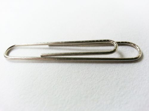 Single Paperclip