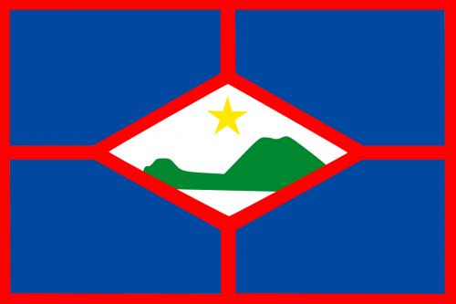 sint eustatius flag national flag