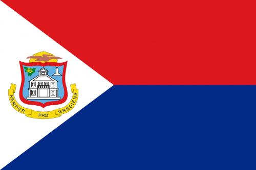 sint maarten flag national flag