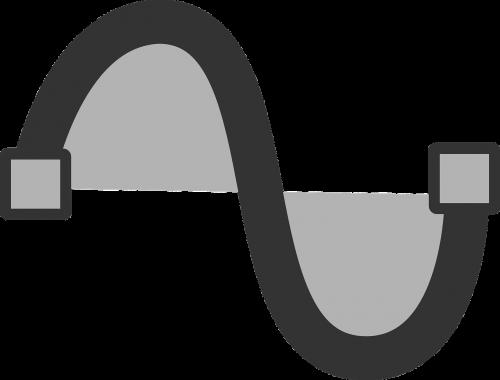 sinus sinusoidal curve