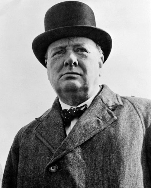 sir winston churchill british prime minister